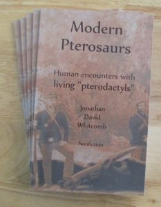 "cryptozoology book, nonfiction, ""Modern Pterosaurs"""